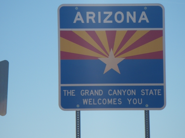 Arizona border
