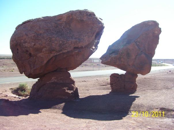 Balancing boulders