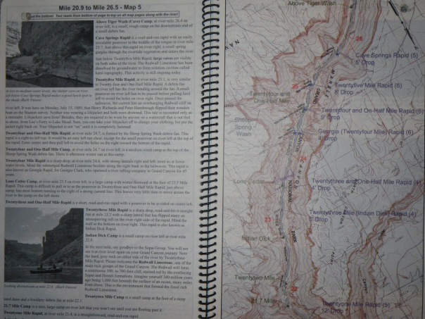 River Guide Map - Roaring Twenties