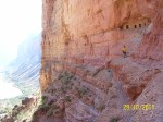Granaries on the side of the Canyon wall