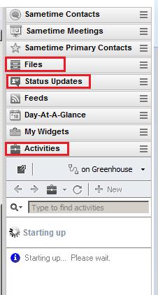 Sidebar widgets and plugins