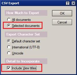 ExportCSV