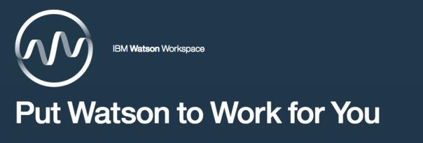 IBM Watson Workspace logo